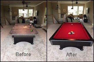 expert pool table recovering in Port Angeles content img3